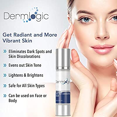 Dark Spot Corrector Cream- Visibly Fades & Repair Skin Discoloration from Dark Spots, Sun Spots, Age Spots, Acne Scars, Brown Spots, Freckles. Hydroquinone Free, No Harsh Chemicals for Face & Body