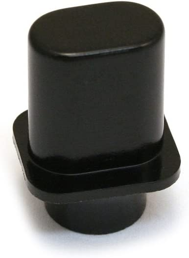 2 Tophat Tele Style Switch Knobs Fits uns Black