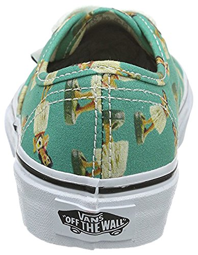 Vans Authentic - Zapatillas Unisex Niños Turquesa / Blanco