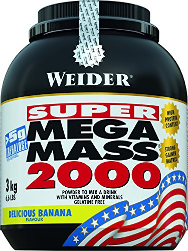 Weider Nutrition Mega Mass 2000 Banana 3000g