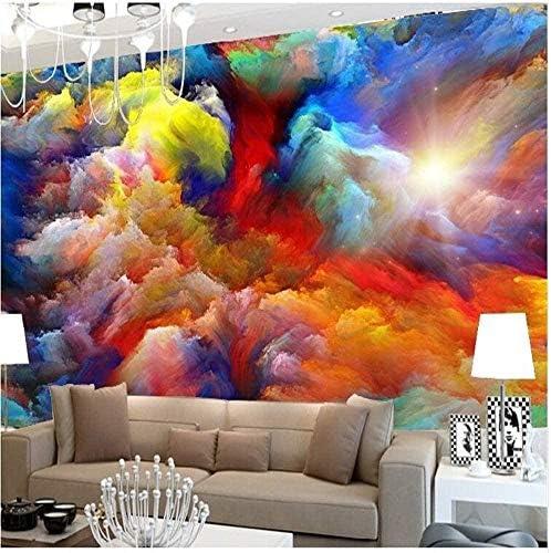 壁紙壁画ウォールステッカーカスタム壁紙空雲背景リビングルームの天井フレスコ防水ビニール壁紙Papel De Parede350x240cm
