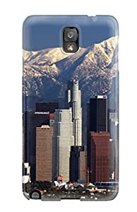 For Galaxy Note 3 Tpu Phone Case Cover(los Angeles City ) Sending Free Screen Protector