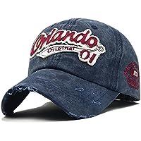Handcuffs Stylish Cotton Baseball Adjustable Blue Cap for Men/Women (BFVCU86)