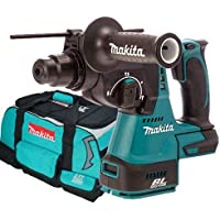 Makita DHR242Z 18v Li-ion Brushless 3 Mode SDS Rotary Hammer Body + LXT 4pc Bag