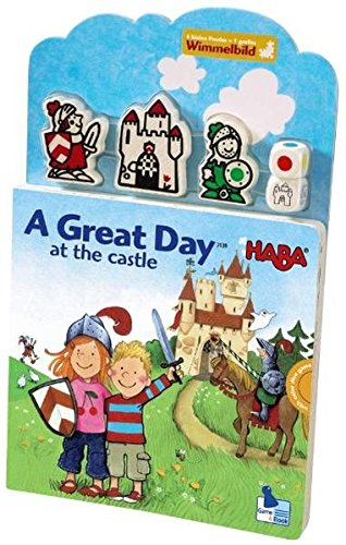 A Great Day at the Castle Children's Book - Haba Puzzle Book