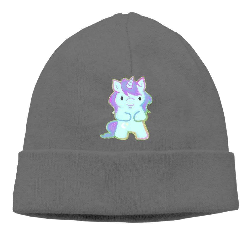 boy Unisex Cute Unicorn Rainbow Classic Fashion Daily Beanie Hat Skull Cap Go Ahead