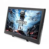 #8: cocopar 13.3 inch Portable monitor 16:9 HDMI/VGA 1920X1080 PS3/PS4/xbox360/one 1080P LED display game monitor for Raspberry Pi (weight636g,thickness 15mm)
