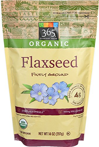 365 Everyday Value  Organic Flaxseed Finely Ground  14 Oz