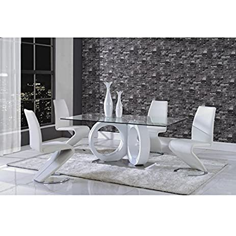 Global Furniture Dining Table, White Part 56