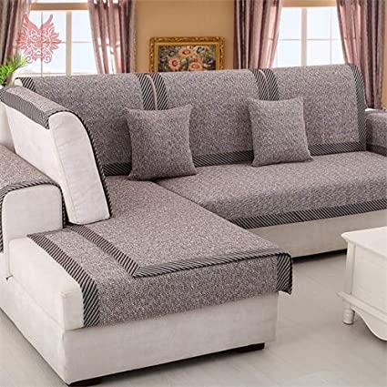 Amazon.com: Zoomy far: American Style Beige Cotton ed Sofa ...
