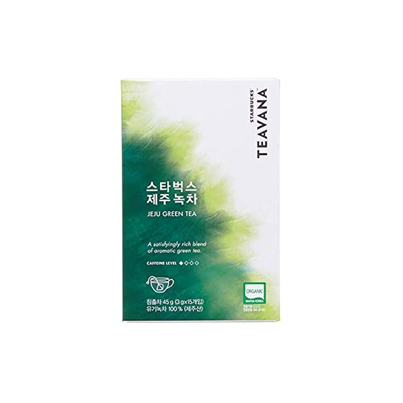 STARBUCKS TEAVANA Jeju Té verde, 15 bolsas de té: Amazon.es ...