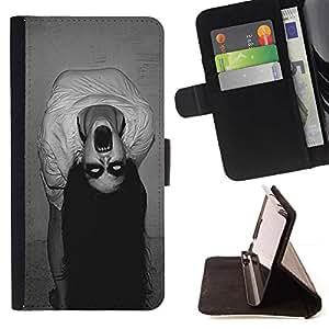 Momo Phone Case / Flip Funda de Cuero Case Cover - Endemoniado Bruja fantasmagórica - Samsung Galaxy S6 Edge Plus / S6 Edge+ G928