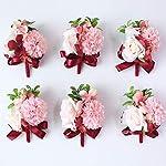 Boutonnieres-Silk-Roses-Wrist-Corsages-Pink-Cuff-Bracelets-Bridesmaid-Groom-Flower-Boutonnieres-Marriage-Wedding-SuppliesF-Wrist-Flower
