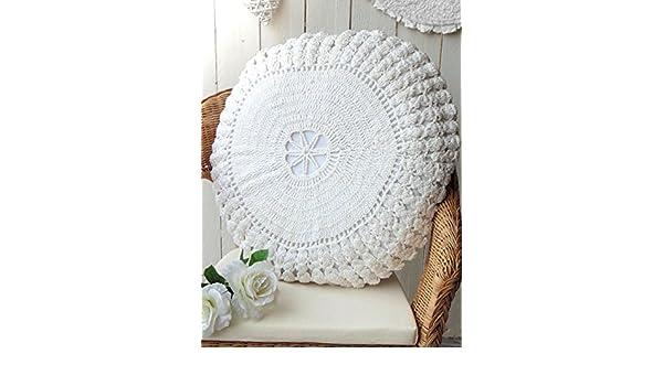 Blanc Mariclo - cojín redondo 60 x 60 cm colección de ...