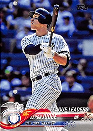 2018 Topps 111 Aaron Judge New York Yankees Baseball Card