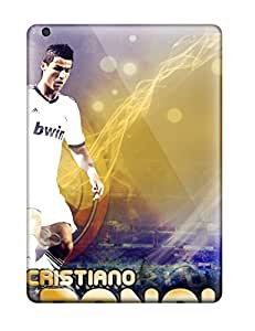 Fashion Tpu Cases For Ipad Air- Cristiano Ronaldo Real Madryt 2013 Defender Cases Covers