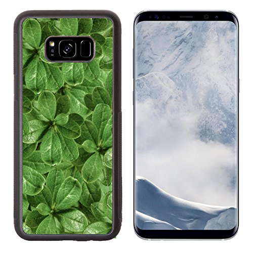 - Luxlady Samsung Galaxy S8 Plus S8+ Aluminum Backplate Bumper Snap Case IMAGE ID: 34457003 Manipulated photo plants texture pattern closeup detail in vivid green tones
