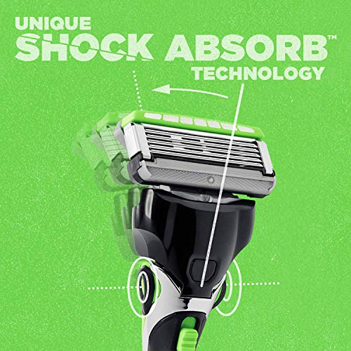 Schick Hydro 5 Sense Sensitve Razors for Men With 1 Razor Handle and 16 Razor Blades Refills