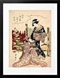 Wall Art Japanese ukiyo-e Poster ('pictures of the floating world') CUP1092-A4BK