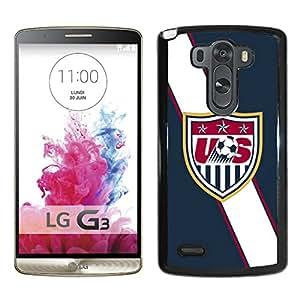 USA Soccer 4 Black New Design Phone Case For LG G3 Case