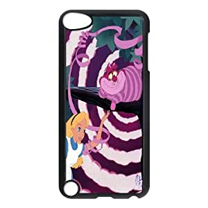 Chaap And High Quality Phone Case FOR Ipod Touch 5 -We All Mad Here - Cheshire Cat-LiShuangD Store Case 7
