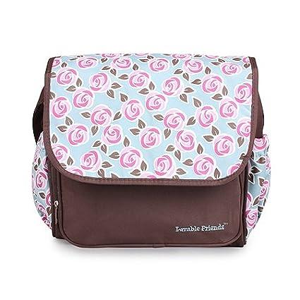 Amazon.com : High quality flower baby diaper bolsas bag ...
