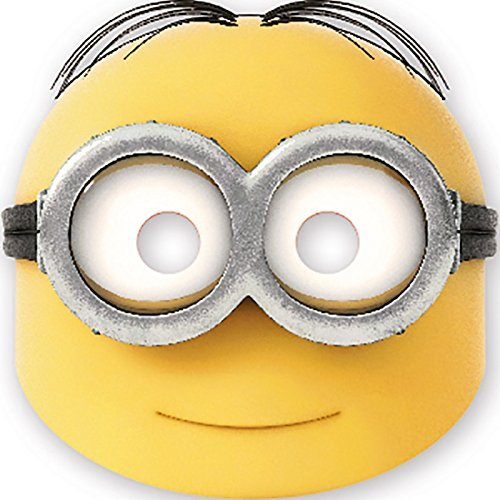 [Procos Lovely Minions Party Masks (6 Pack)] (Minion Mask)