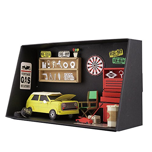 Paper Nano Garage Building set
