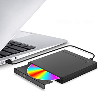 Amazon.com: USB External CD/DVDPVC Matte Case CD-ROM Drive ...