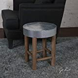 The Stool Jace Industrial Aluminum Stool