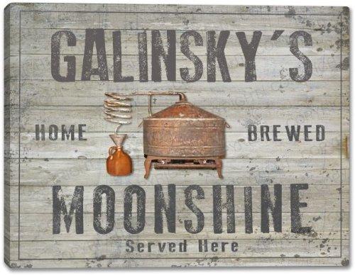 Galinsky Print (GALINSKY'S Home Brewed Moonshine Canvas Print 24