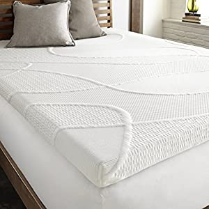 Gel Fusion Memory Foam Mattress Topper 2-Inch by Perfect Cloud (Queen) - Wake Up Rested On Gel-Infused Comfort Memory Foam. NEW 2018 MODEL