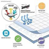 Madison Park Windom Microfiber Down Alternative Stain Resistant Blanket, King, White