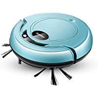Smart Robotic Vacuum Cleaner Automatic Vaccum Robot Sweeper Tangle-free Suction for Pet Hair Hard Floor S320 Blue