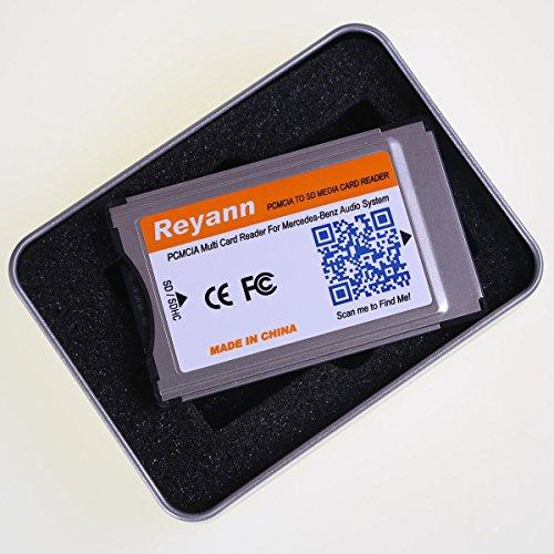 Reyann pcmcia to sd sdhc card adaptor converter for for Pcmcia card for mercedes benz