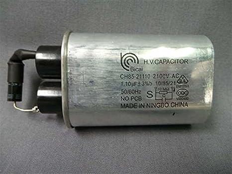 Amazon.com: LG ch85 – 21110 Microondas Condensador 1.10 UF ...