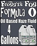 Froggys Pro Oil Based Haze Juice Machine Fluid - Case