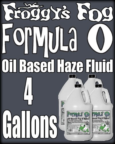 Froggys Pro Oil Based Haze Juice Machine Fluid - Case by Froggys Fog