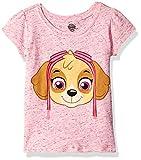 Paw Patrol  Girls' Short Sleeve T-Shirt Shirt, Pink Skye, 3T,Toddler Girls