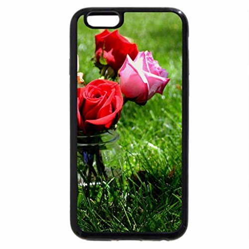 iPhone 6S Case, iPhone 6 Case (Black & White) - A simple jar of beauty