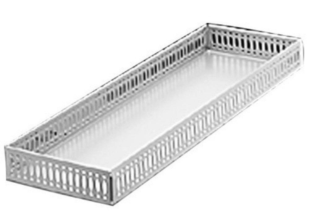 Taymor 02-D1090 Chrome Large Vanity Tray by Taymor Industries