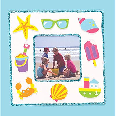 Baker Ross Design Your Own Frame (Pack of 10) for Kids to Decorate: Arts, Crafts & Sewing