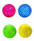 Edushape 4″ See-Me Sensory Balls, Translucent, 4 Pack, Baby & Kids Zone