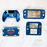 Wireless Controller for PS4, Blue Galaxy Style Dual