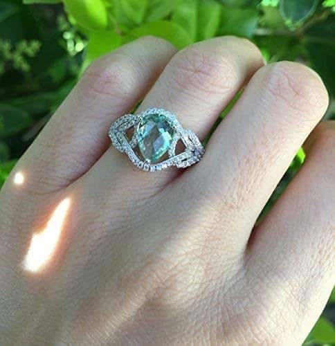 Amazon.com: Art Nouveau Engagement Ring- Art Deco Promise