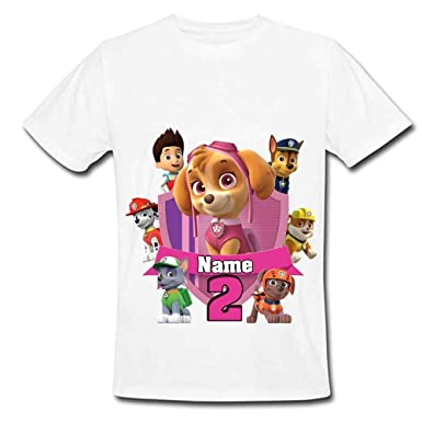 81bb1c9f7 New Personalized Custom Paw Patrol Birthday T Shirt Party Favor.  Sprinklecart PAW Patrol Kids Birthday Tee