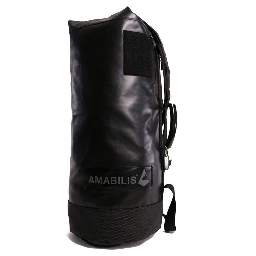 AMABILIS Water Resistant, Heavy Duty Dave Duffel Bag, 25 x 12 Inches - 46 liters/2827 cu. In, Black/Tactical
