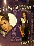 Justin Bieber Fleece Throw