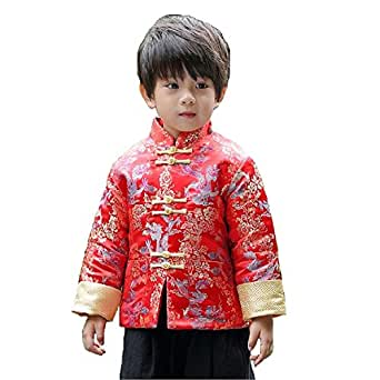 Amazon.com: Hooyi Winter Boy Quilted Jacket Children