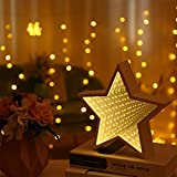 TAOtTAO Marquee LED Night Light Bedroom Tunnel Modeling Home Decor Battery Wall Lamp (A)